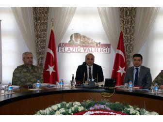 Elazığ'da Afad Kurulu Değerlendirme Toplantısı Yaptı