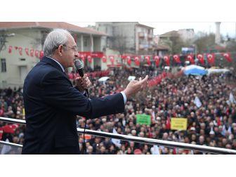 Chp Genel Başkanı Kılıçdaroğlu: Yeni Anayasa Değişikliğine 'Evet' Dersek Devlette Çift Başlılık Olur