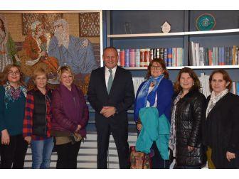 Kadın Meclisinden Başkan Keleş'e Ziyaret