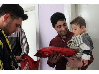 Siirt Fenerbahçe Taraftarlarından Acılı Aileye Destek Çıktı