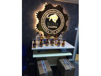 Yalova'da Sahte İçki Operasyonu