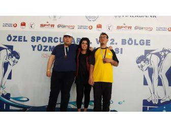 Ses-sizsiniz Spor Kulübü Sporcusu Özgüler'den Büyük Başarı