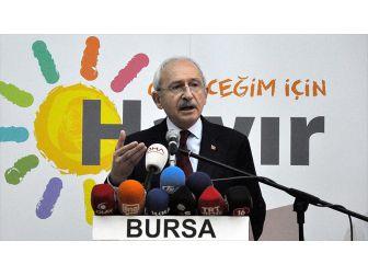 Chp Genel Başkanı Kılıçdaroğlu: 80 Milyonu Freni Olmayan Bir Otobüse Bindiriyoruz