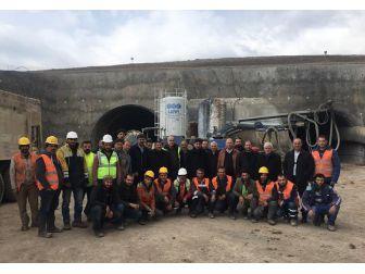 Milletvekili Atalay, Mozeret Tünelinde İncelemelerde Bulundu