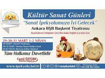 İpekyolu Belediyesinden Tiyatro Günleri Etkinliği