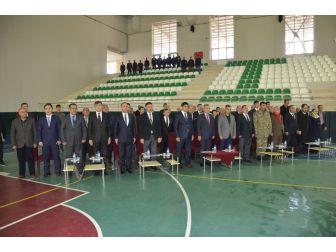 Iğdır Üniversitesi Spor Tesislerinin Temel Atma Töreni