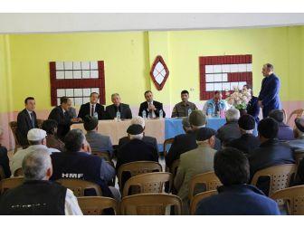 Şaphane'nin Üçbaş Köyünde Halk Toplantısı