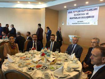 Ak Parti Genel Başkan Yardımcısı Mustafa Ataş Kuşadası'nda