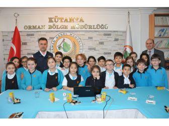 İlkokul Öğrencilerinden Kütahya Orman Bölge Müdürlüğüne Ziyaret
