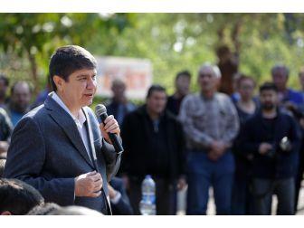 Başkan Türel, Otogar Taksi Esnafıyla Buluştu