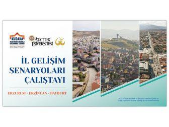 Bölgede İl Gelişim Senaryoları Çalıştayı Düzenlenecek