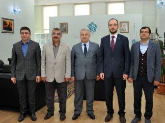 Müsiad Konya Şubesinden Rektör Şeker'e Ziyaret