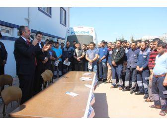 Abdulhamit Gül, Fabrika İşçilerine Cumhurbaşkanlığı Sistemini Anlattı