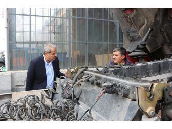 Milletvekili Kaleli Sanayi Esnafıyla Bir Araya Geldi
