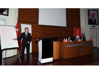 Ömer Özyılmaz Ve Mustafa Ilıcalı, Rektör Çomaklı'yı Ziyaret Etti