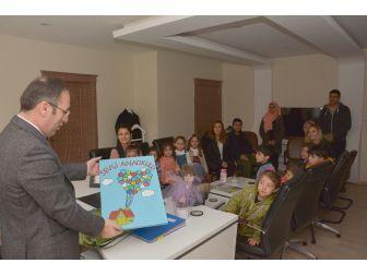 Miniklerden Başkan Vekili Akgül'e Teşekkür Ziyareti