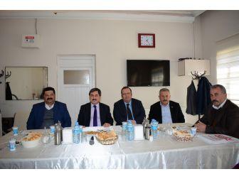 Darende'de Muhtarlarla İstişare Toplantısı Yapıldı