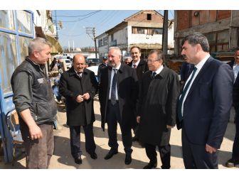 Başkan Uğur'dan Kepsut'ta Esnaf Ziyareti