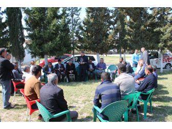Ak Parti Samsat'ki Seçim Çalışmalarını Çadırda Yürütüyor