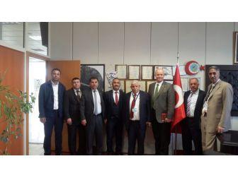 Türk Ulaşım Sen'den Gaziantep Havalimanı Başmüdürü Kırcı'ya Ziyaret