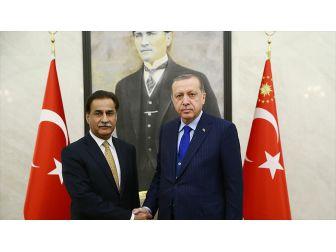 Cumhurbaşkanı Erdoğan, Pakistan Ulusal Meclisi Başkanını Kabul Etti