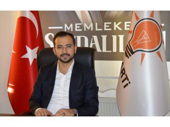 Ak Parti İl Başkanı Tanrıver, Regaip Kandilini Kutladı