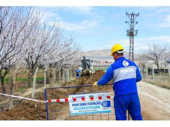 Bağtepe Mahallesinde Kanalizasyon Altyapı Çalışması