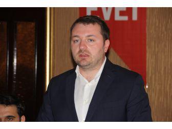 """Ak Parti Gençlik Kolları Genel Başkanı Ecertaş: """"Gençler Güçlü Bir Türkiye İstiyor"""""""