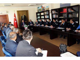Develi'de İlçe Güvenlik Danışma Kurulu Toplantısı Yapıldı