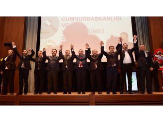 Yozgat'ta Birlikte 'Evet' Tablosu