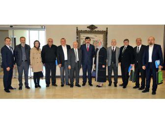 Gaziantep Sanayi Odası (Gso) Ve Kocaeli Sanayi Odası Ortak Komite Toplantısı, Gaziantep'te Yapıldı