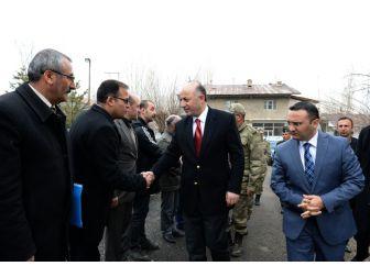 Vali Azizoğlu'ndan İlçelerde Güvenlik Toplantısı