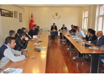 Besni'de Osb İstişare Toplantısı Yapıldı