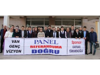 'Van Genç Vizyon' Referandum İçin Alana İndi