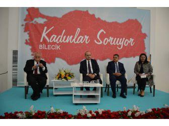 Kültür Ve Turizm Bakanı Nabi Avcı Bilecik'te