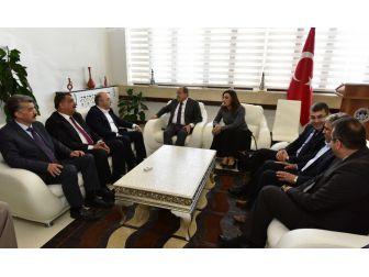Bakan Yardımcısı Alpay'dan Başkan Gürkan'a Ziyaret