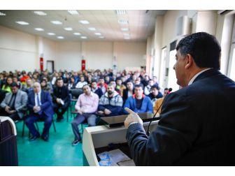 Başkan Fadıloğlu Eğitmenlere Yeni Yeni Sistemi Anlattı