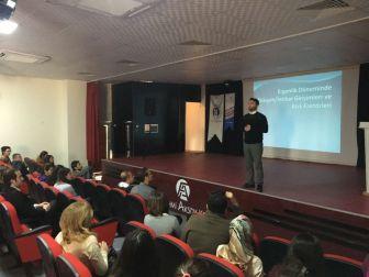 Zekeriya Deniz Aktan Diyarbakır'da Öğretmenlerle Buluştu