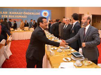 Başkan Atilla İstişare Toplantısını Katıldı