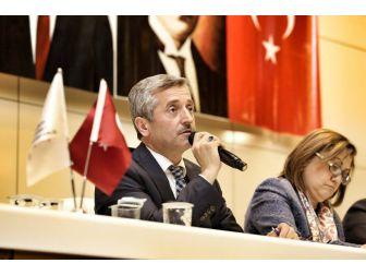 Gaziantep'te Muhtarlara Referandum Süreci Anlatıldı