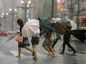 Ege Bölgesi'nde Fırtına Ve Yağmur Uyarısı!