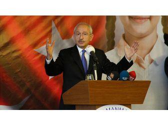 Chp Genel Başkanı Kılıçdaroğlu: Yüzde 10 Olan Seçim Barajı Kalkmalı