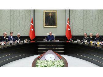 Cumhurbaşkanı Erdoğan Başkanlığında Bakanlar Kurulu Toplandı