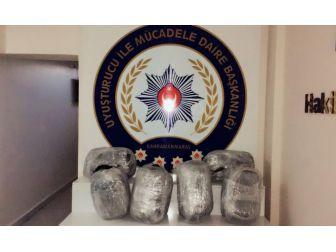 Polisten Kaçan Otomobilden 30 Kilo Uyuşturucu Çıktı