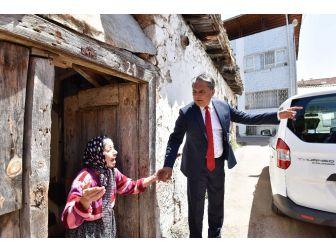 Başkan Uysal, Haşım İşcan Mahallesi'nde İncelemelerde Bulundu