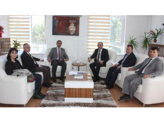 Türk Tarih Kurumu Başkanı Hattuşa'yı Ziyaret Etti