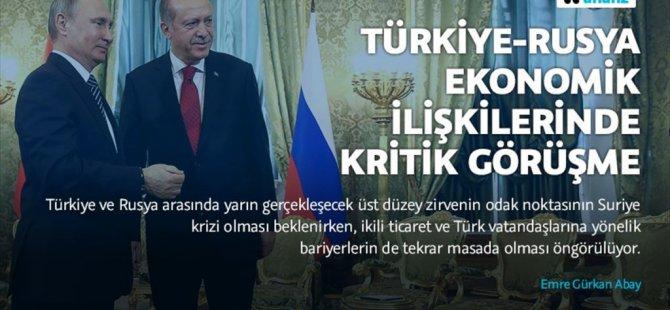 Türkiye-rusya ilişkilerinde kritik görüşme!