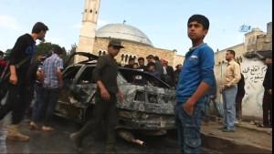 Azez'de Bomba yüklü Saldırı! Ölü ve yaralılar var