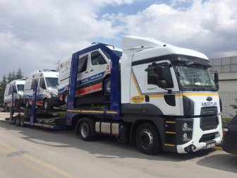 BAE, Abu Dhabi'nin Ambulansları Türkiye'den