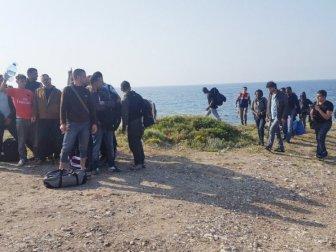 İzmir'de Yurt Dışına Kaçmaya Çalışan 172 Göçmen Yakalandı